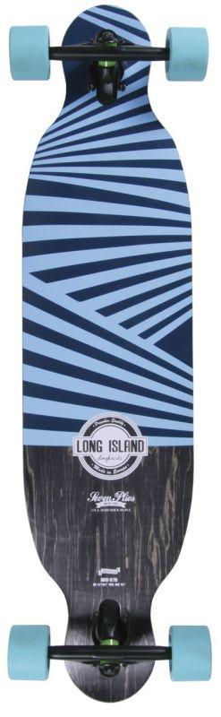 LONG ISLAND Retro DropThrough Longboard Komplett