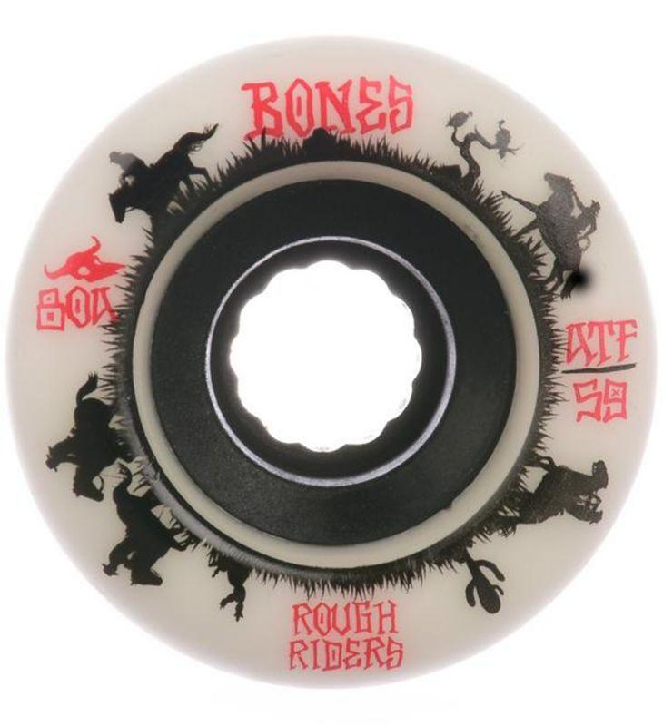 BONES ATF Rough Riders Wrangler 59mm 80a White