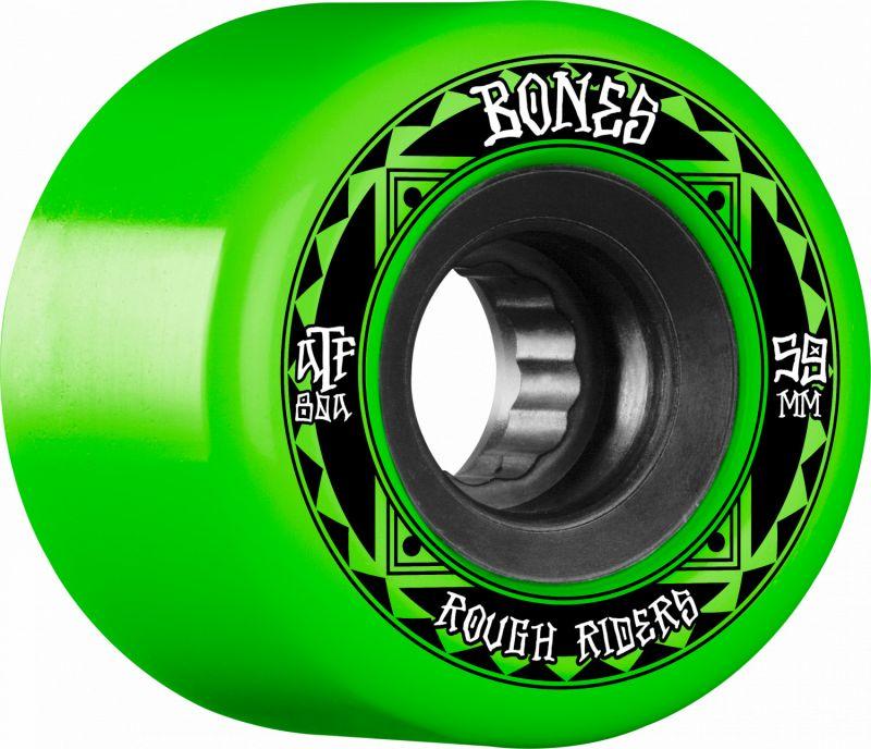 BONES ATF Rough Riders Runners 59mm 80a Green