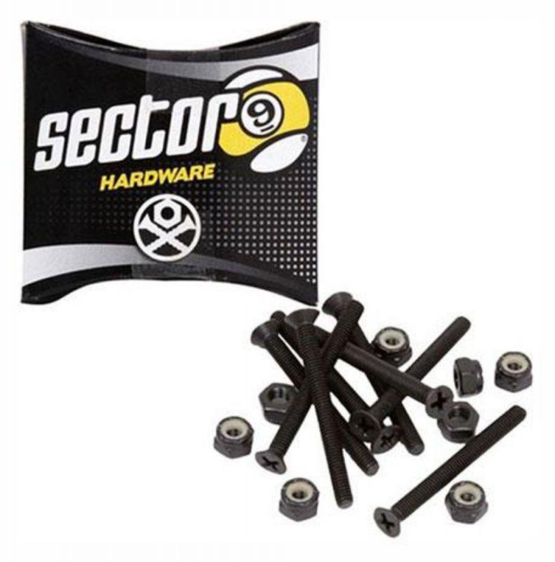 """SECTOR 9 Bolt Pack 1,25"""" - Montagesatz Senkkopf"""