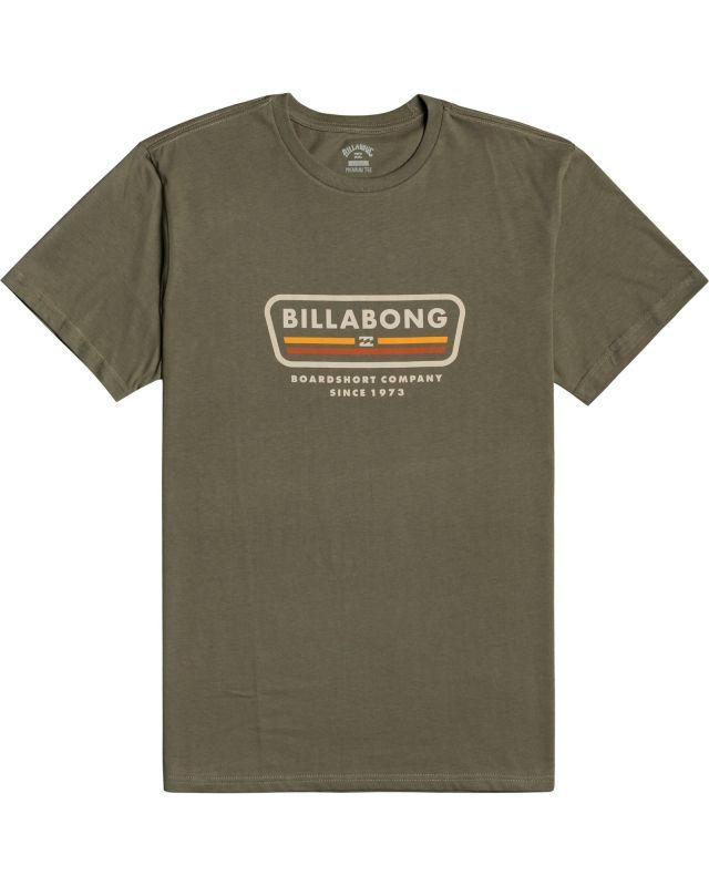 BILLABONG Badge Military - T-Shirt