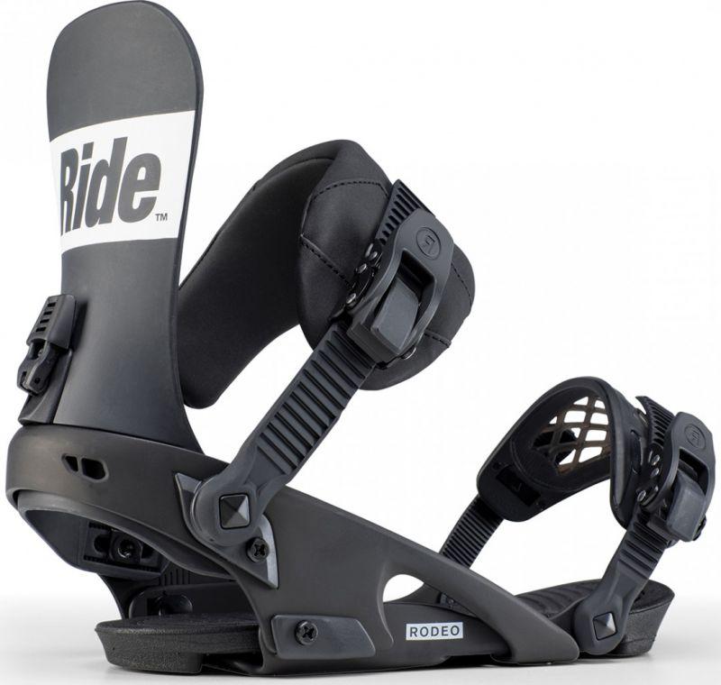 RIDE Rodeo Black L - Snowboard-Bindung 2020