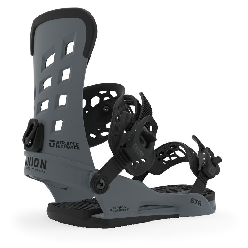 UNION STR Dark Grey L - Snowboard-Bindung 2020