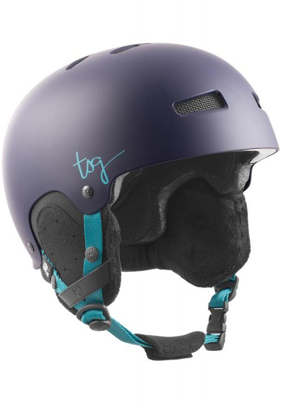 TSG Lotus Solid Color Satin Figue L/XL - Snowboardhelm