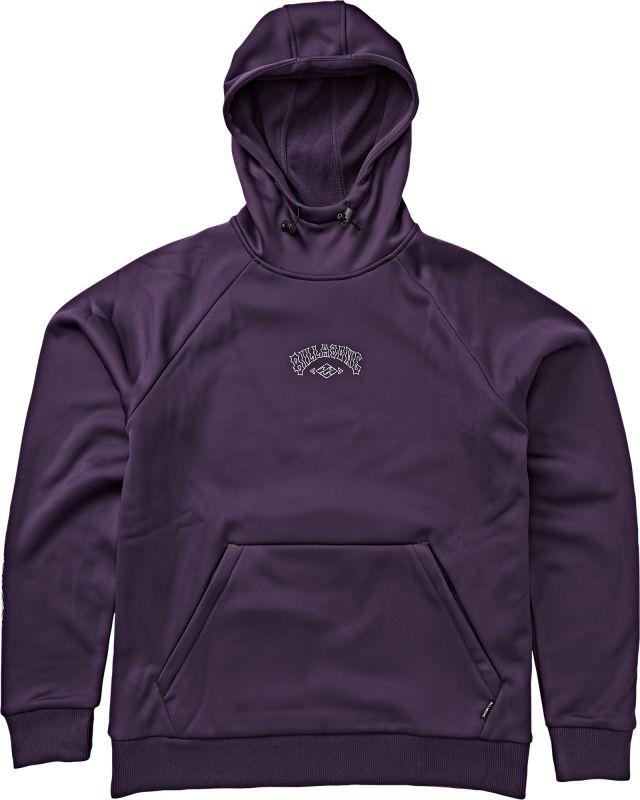 BILLABONG Downhill Hood - Dark Purple - S - Snowboard Kapuzenpullover