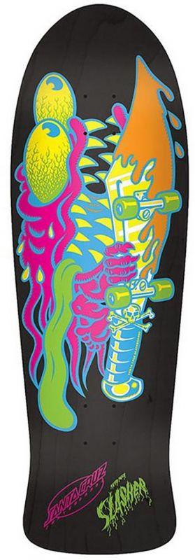 SANTA CRUZ Neon Slasher Matte Stain Reissue Deck