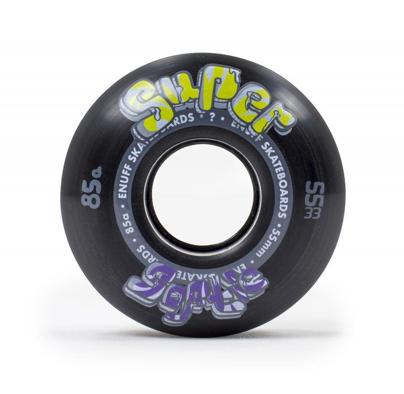 ENUFF Super Softie Wheels 55mm 85a Black - Skateboardrollen