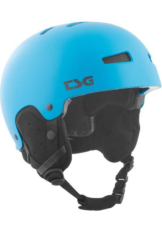 TSG Gravity Solid Color Satin Satin Dark Cyan L/XL - Snowboardhelm