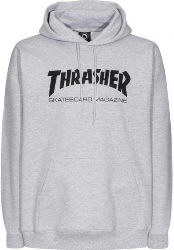 THRASHER Skatemag Hooded Sweatshirt Greymottled