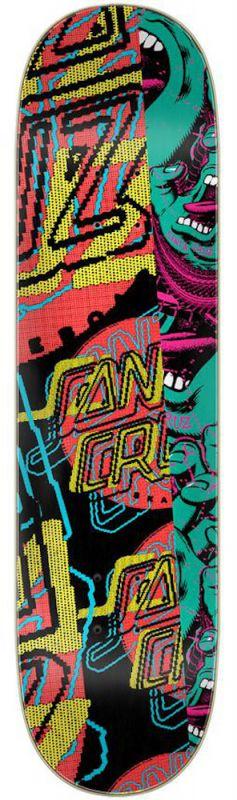 "SANTA CRUZ No Pattern Dot 8"" Everslick - Skateboard Deck"