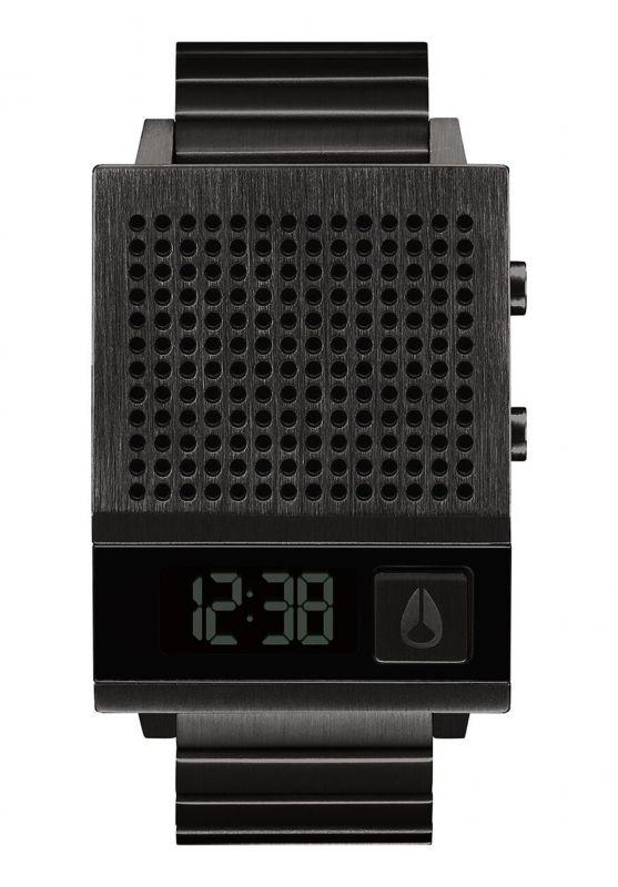 NIXON Dark Too All Black - Armbanduhr