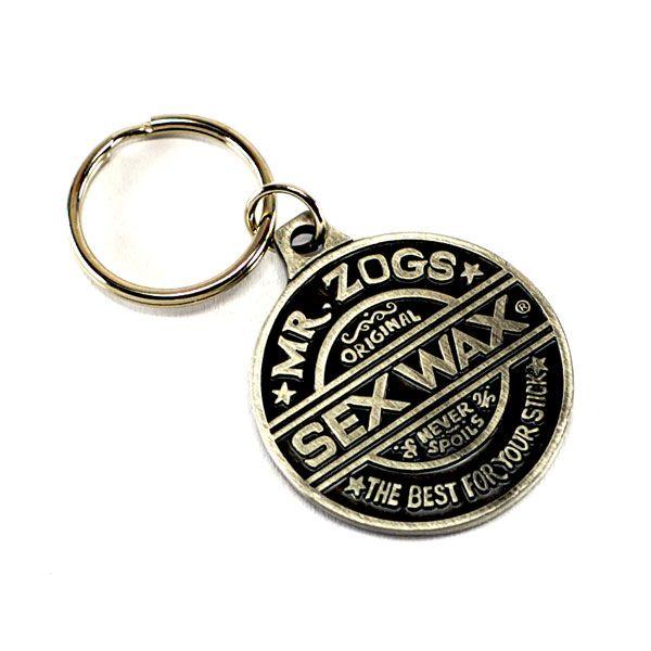 SEX WAX Key Ring Metal Schlüsselanhänger