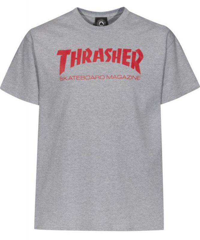 THRASHER Skatemag T-Shirt Greymottled