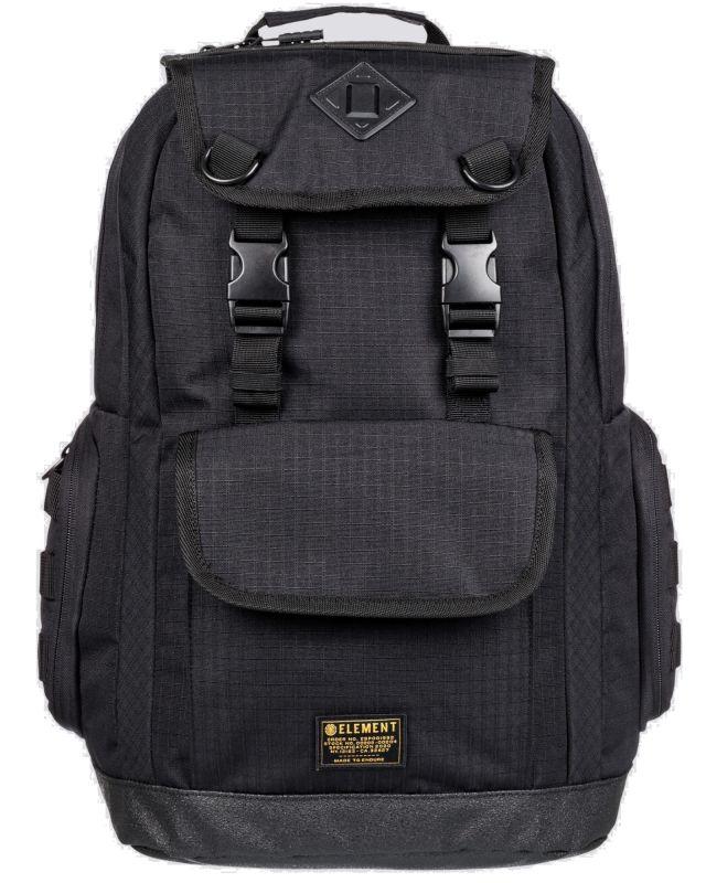 ELEMENT Cypress Recruit Backpack Flint Black - Rucksack