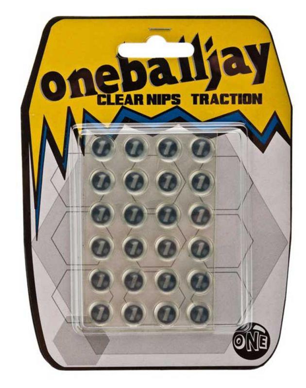 ONEBALLJAY Clear Nipples Traction - Anti-Rutsch-Pad / Stomp Pad