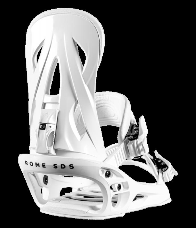 ROME Shift White S - Snowboard-Bindung 2020