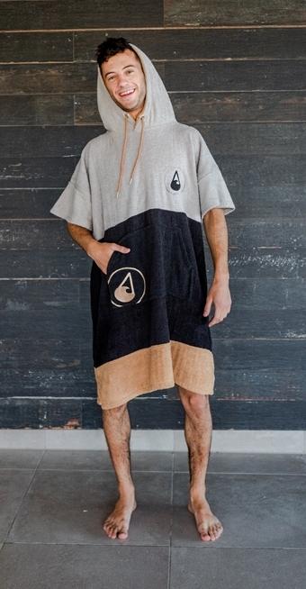 WAVE HAWAII Cotton Poncho Soul (Größe M)  - Surf Poncho