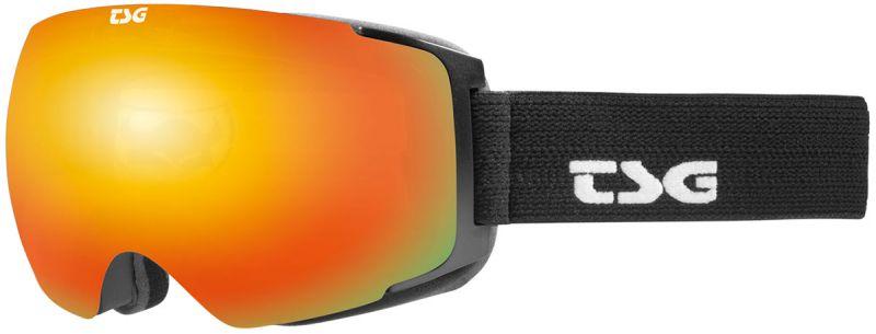 TSG Goggle Two Black Red Chrome - Snowboardbrille