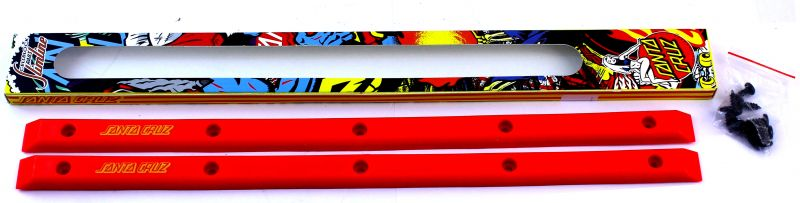 SANTA CRUZ Rails Slimline Siderails Red
