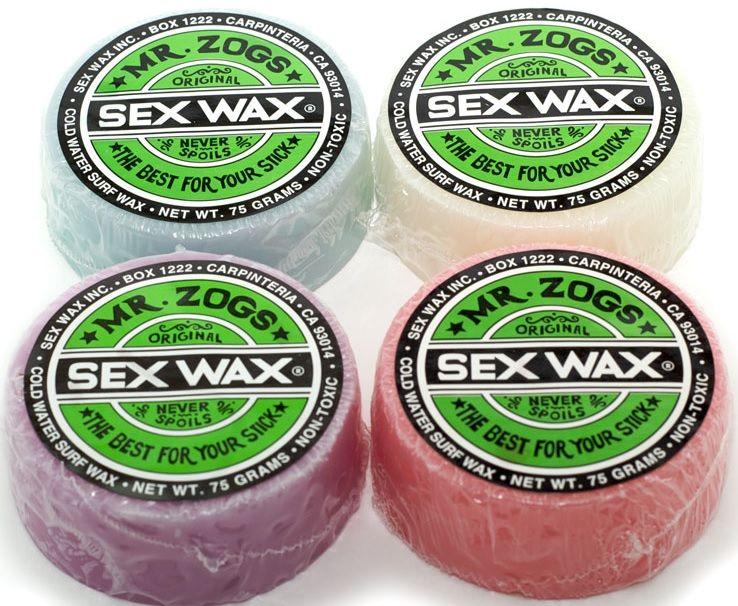 SEX WAX Original Green COLD Water