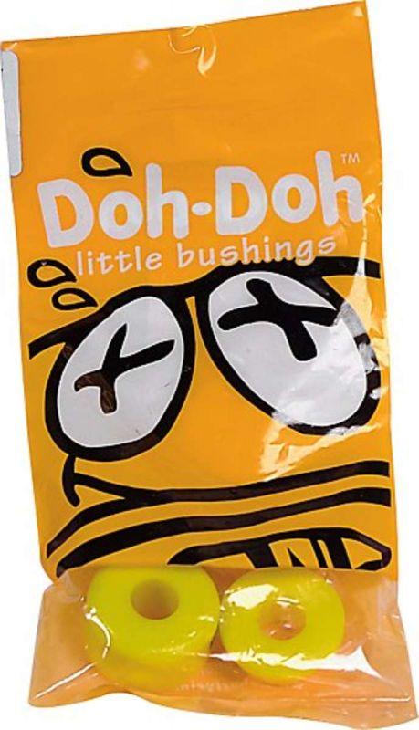 DOH-DOH Bushings Yellow 92a Medium Soft - Lenkgummis für 2 Skateboardachsen