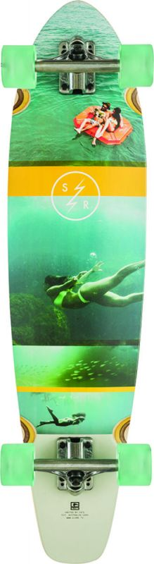 GLOBE Strange Rumblings Clearwater Longboard komplett