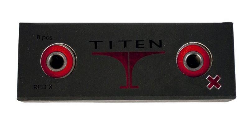 TITEN Bearings Red X (4-Pack) - Kugellager